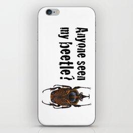 Beetle Search iPhone Skin