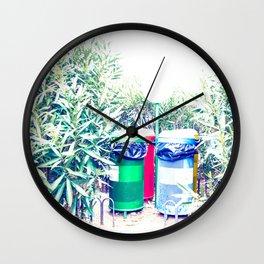 Hidden Colours Wall Clock