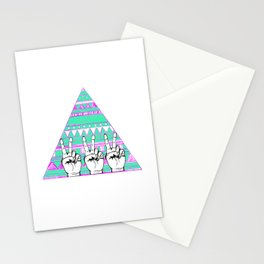Ten Thousand Hands Stationery Cards