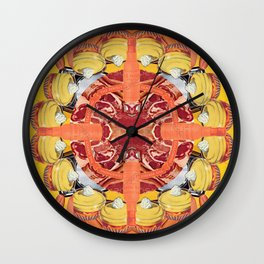 Custard 16 Corners Wall Clock