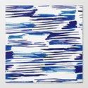 Shibori Paint Vivid Indigo Blue and White by followmeinstead