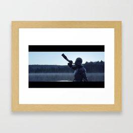 The Call (Film Still) Framed Art Print