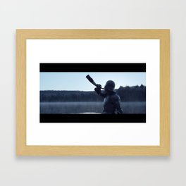 The Call (Film Still) Framed Art Print