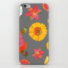 My Favorite Flowers iPhone Skin