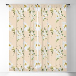 Abigail Daisy Floral Blackout Curtain