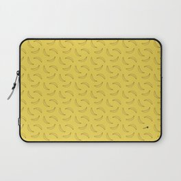 Bananas Pattern Yellow Laptop Sleeve