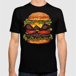 Cheeseburger - Double T-shirt