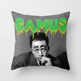 Cramps Camus Throw Pillow