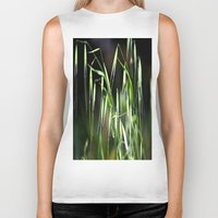 grass Biker Tanks featuring grass by  Agostino Lo Coco