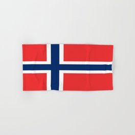 Flag of norway Hand & Bath Towel