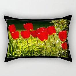 tulip impressions Rectangular Pillow