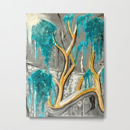 Resting Tree Metal Print
