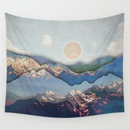 Rolling Mountains Wall Tapestry