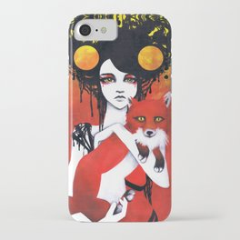 Fauna Goddess of Animals iPhone Case