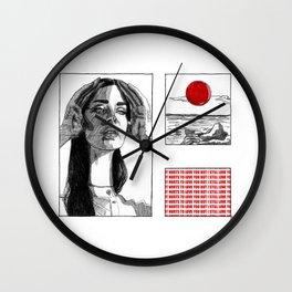 13 beaches Wall Clock