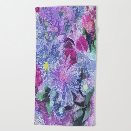 Bouquet Beach Towel