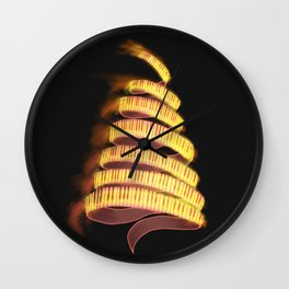 La Campanella by Franz List, illustration Wall Clock
