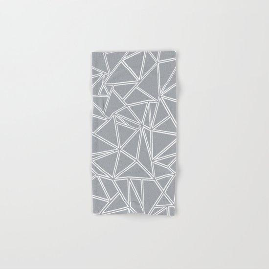 Ab Blocks Grey #2 Hand & Bath Towel