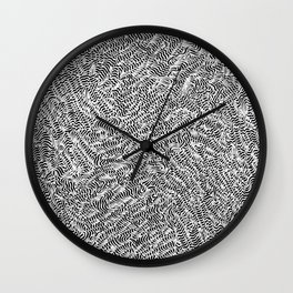 OCD and a Calligraphy Pen #6 Wall Clock