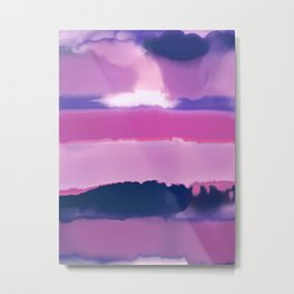 Violet purple Metal Print