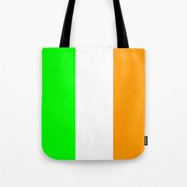flag of ireland 5 -ireland,eire,airlann,irish,gaelic,eriu,celtic,dublin,belfast,joyce,beckett Tote Bag
