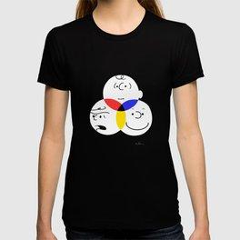 Charlie Brown, colour wheel T-shirt