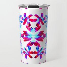 Cia   Blossoms Travel Mug