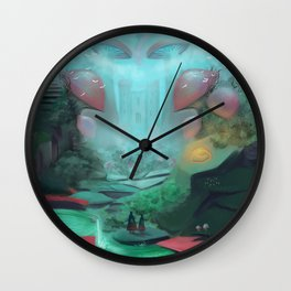 Hidden Kingdom Wall Clock