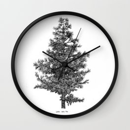 Eastern White Pine Wall Clock