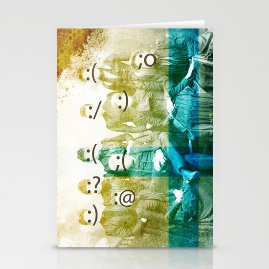 the semicolon sisters Stationery Cards