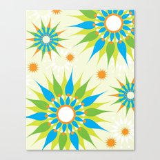 Popsy Twirl Bright Canvas Print