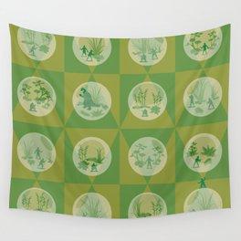 yippee-ki-yay Wall Tapestry