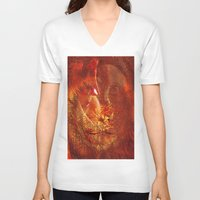 beauty and the beast V-neck T-shirts featuring beauty and the Beast by  Agostino Lo Coco