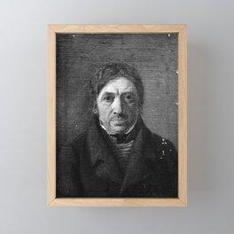 Constantin Hansen - Peder Roed, maleren Jørgen Roeds fader Framed Mini Art Print
