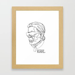 His Name Was Karl Framed Art Print