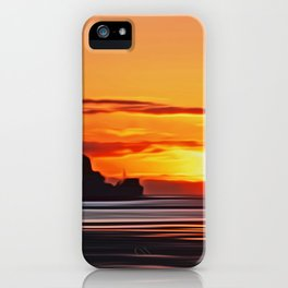 Belfast Ferry (Digital Art) iPhone Case