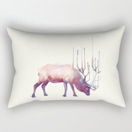 Elk // Solitude Rectangular Pillow