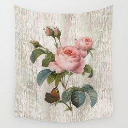 Roses Nostalgie Wall Tapestry