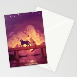Forever Alone Together Stationery Cards