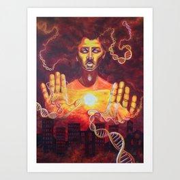 Karmic Burn Art Print