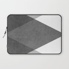 black and white triangles Laptop Sleeve