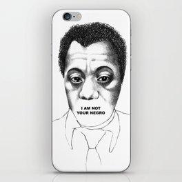 James Baldwin iPhone Skin