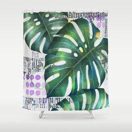 hojas Shower Curtain