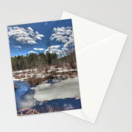Early Spring Marsh Stationery Cards
