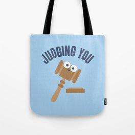 Held In Contempt Tote Bag