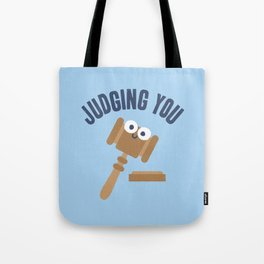 Held In Contempt Tote Bag