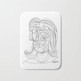 Pablo Picasso Tete de Femme 1939 (Head Of A Woman) T Shirt Bath Mat