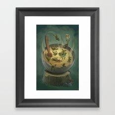 Goblins Drool, Fairies Rule - Goblin Soup Framed Art Print