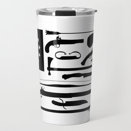 Tools of the American Revolution Travel Mug