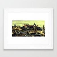 edinburgh Framed Art Prints featuring Edinburgh by EclipseLio